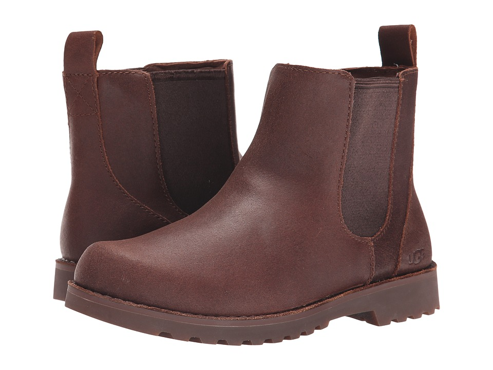 UGG Kids Callum Little Kid/Big Kid Chocolate Suede Boys Shoes