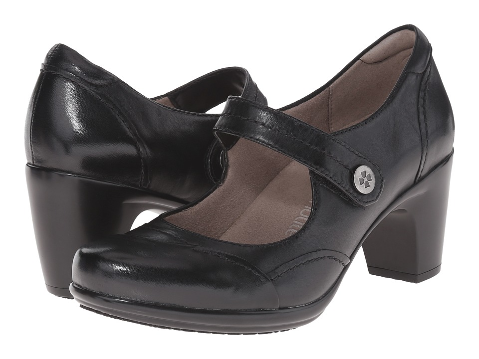 Naturalizer Venue (Black Leather) High Heels