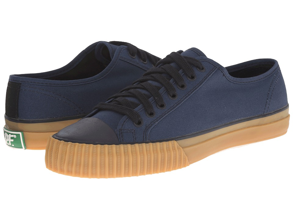 PF Flyers Center Lo Retro Athletic Navy Mens Shoes