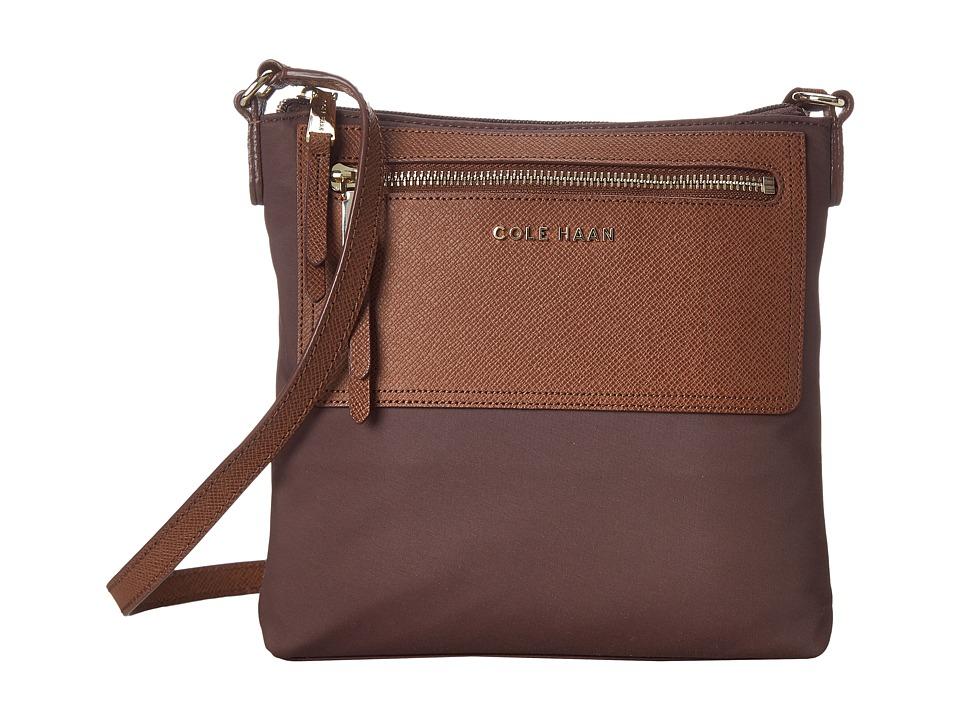 Cole Haan - Acadia N/S Crossbody (Chestnut) Cross Body Handbags