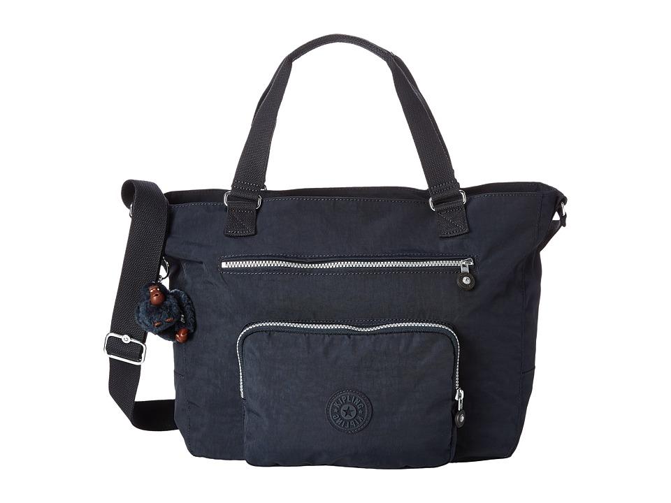 Kipling Maxwell Tote True Blue Tote Handbags