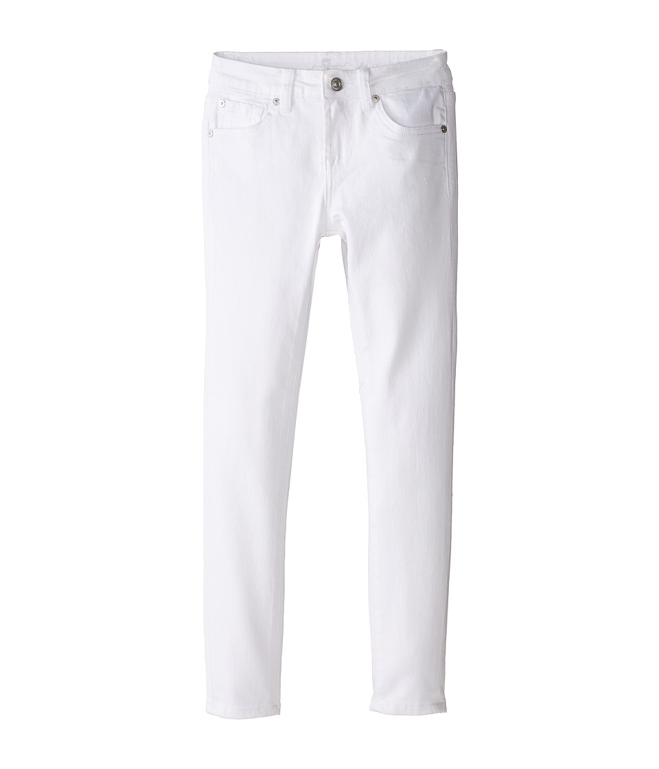 7 For All Mankind Kids - The Skinny in Clean White