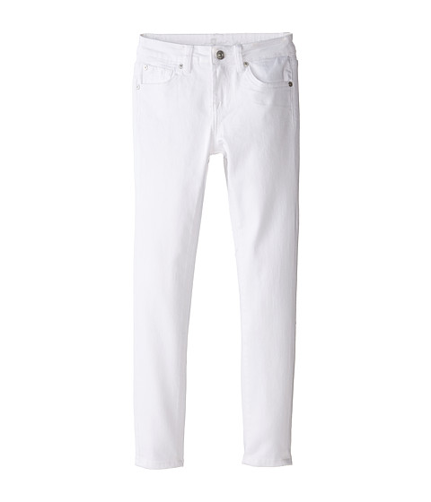 7 For All Mankind Kids The Skinny in Clean White (Big Kids)