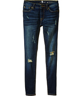 7 For All Mankind Kids - The Skinny in Dest Deep Indigo (Big Kids)