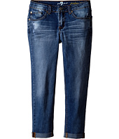 7 For All Mankind Kids - Josefina in Distressed Authentic (Big Kids)