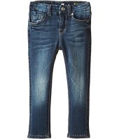 7 For All Mankind Kids - Ankle Skinny in Heritage Medium Dark (Little Kids)