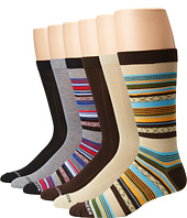 Steve Madden - 6-Pack Fashion Crew Socks