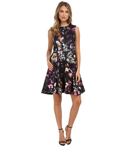 Ted Baker High Neck Shadow Flora Dress