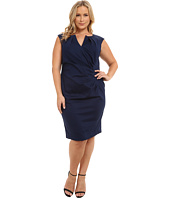 Adrianna Papell - Side Drape Sheath Dress