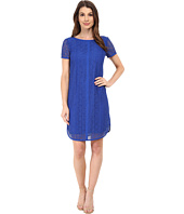 Adrianna Papell - Mini Medallion Lace Dress