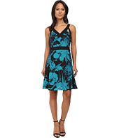 Adrianna Papell - Banded Dress with Cutout