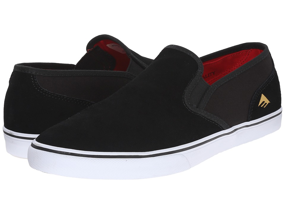 Emerica Provost Cruiser Slip (Black/White) Men