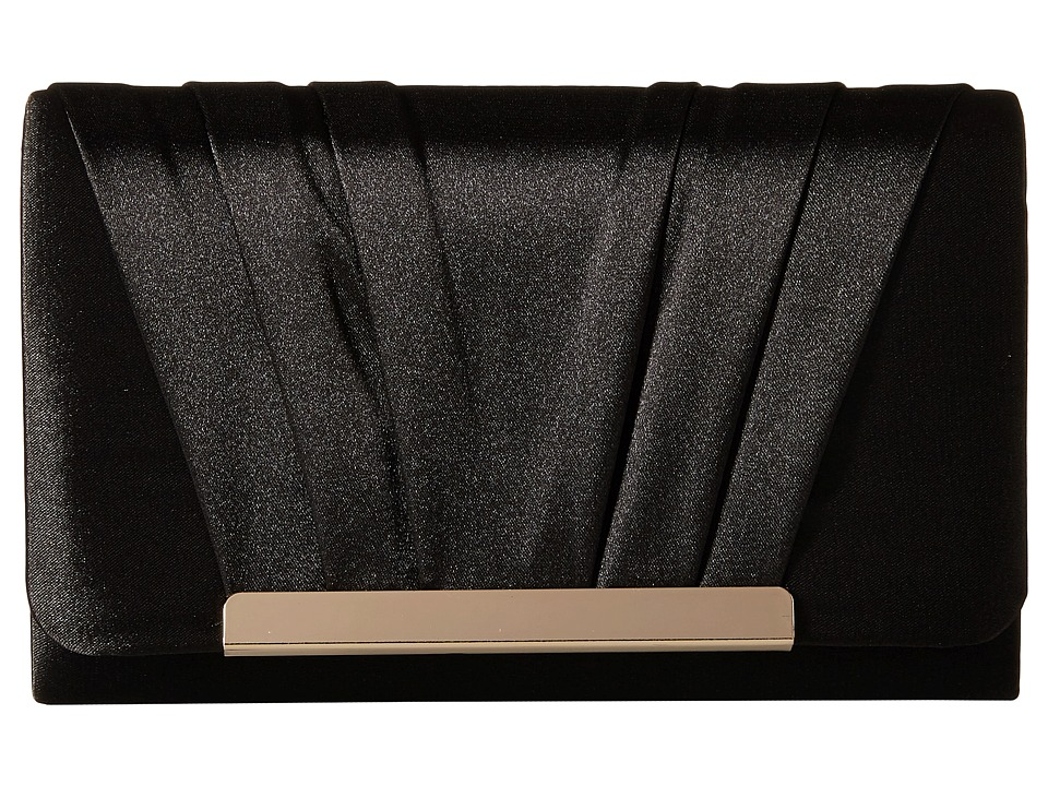 Jessica McClintock - Harper Clutch (Black) Clutch Handbags