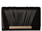 Jessica McClintock Harper Clutch (Black)