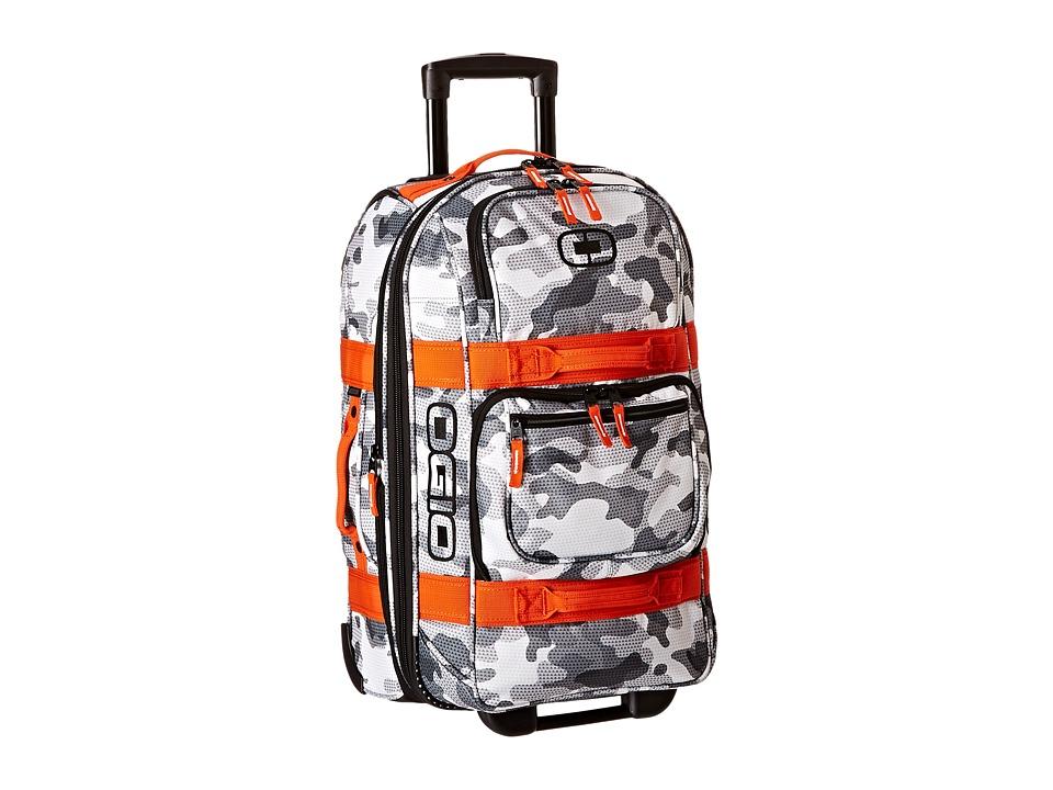 OGIO - Layover (Snow Camo/Orange) Pullman Luggage