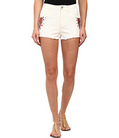 Rampage - Embroidered Denim Shorts