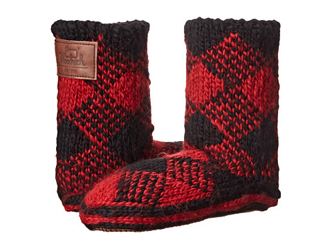 Woolrich Chalet Ankle Sock - Red Plaid