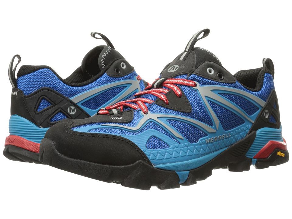 Merrell Capra Sport Blue Mens Lace up casual Shoes