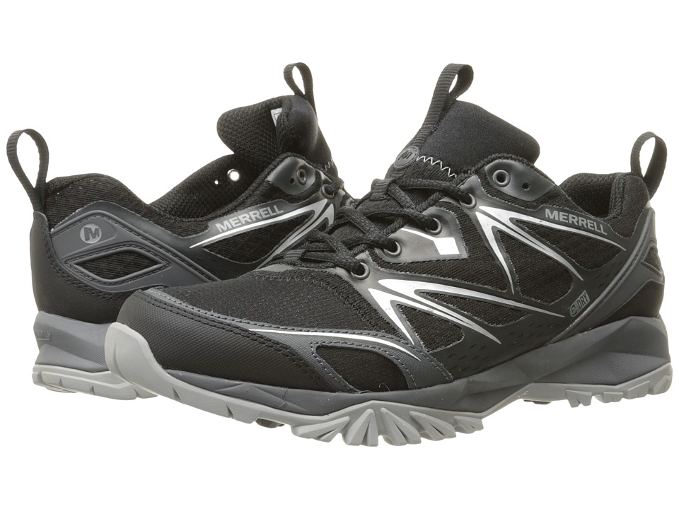 Merrell - Capra Bolt Waterproof (Black) Men