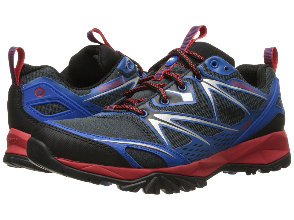 Merrell - Capra Bolt Waterproof (Blue) Men