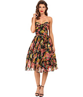 Unique Vintage - Dandridge Chiffon Swing Dress