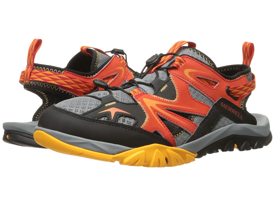 Merrell - Capra Rapid Sieve (Bright Red) Mens Shoes