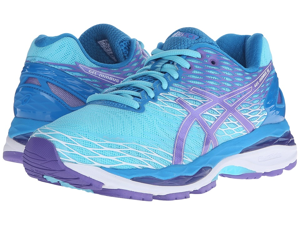 ASICS Gel-Nimbus 18 (Turquoise/Iris/Methyl) Women