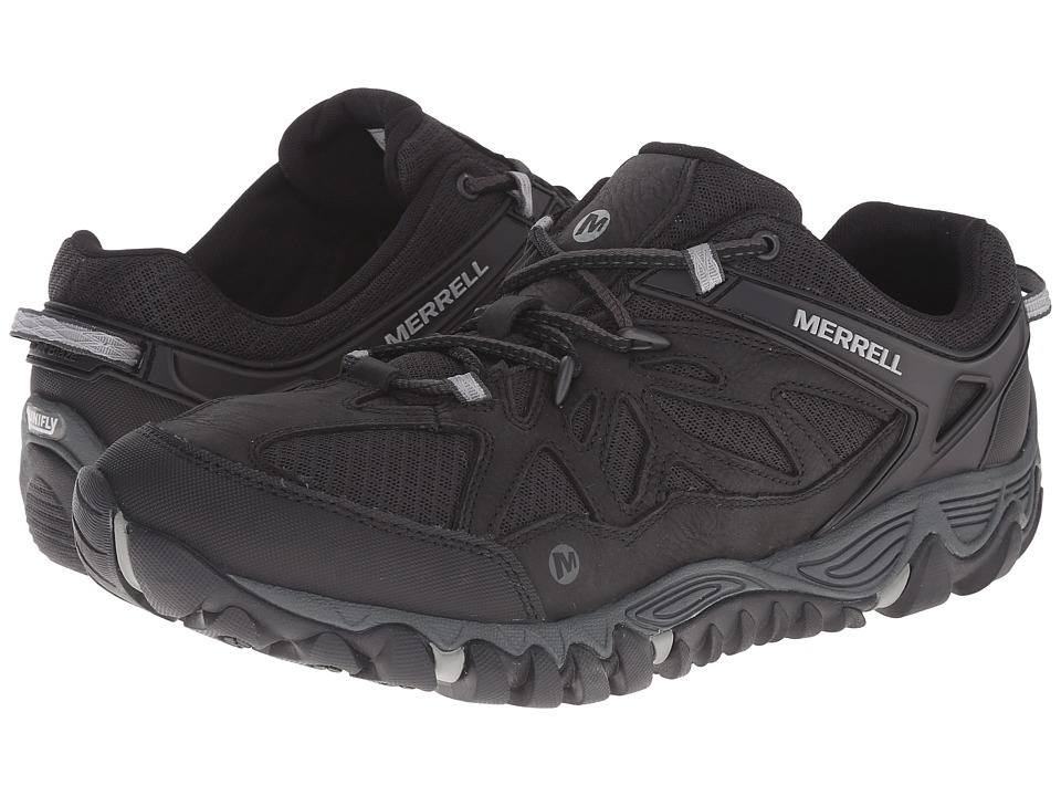 Merrell All Out Blaze Vent Black Mens Shoes