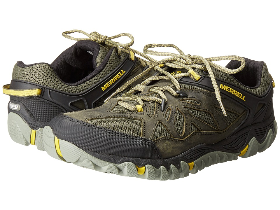 Merrell All Out Blaze Vent Olive Mens Shoes