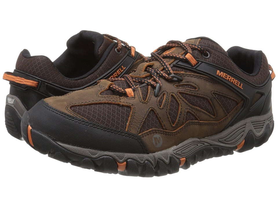 Merrell All Out Blaze Vent Burnt Maple Mens Shoes