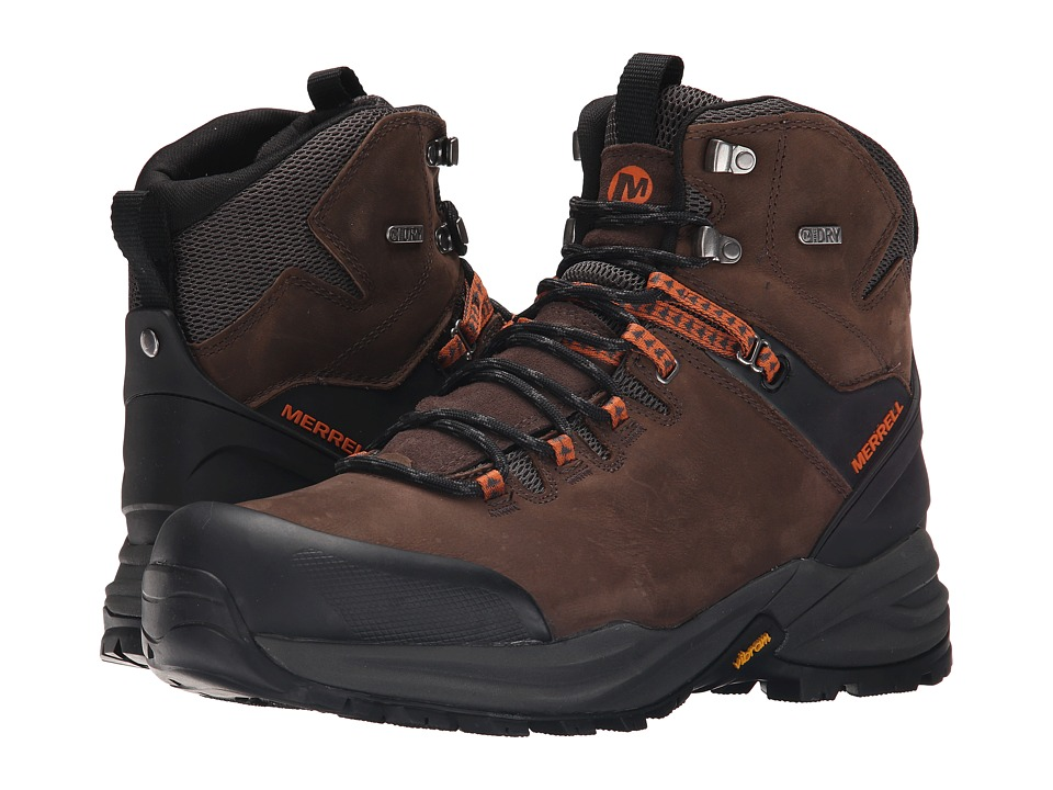 Merrell Phaserbound Waterproof (Clay) Men's Shoes