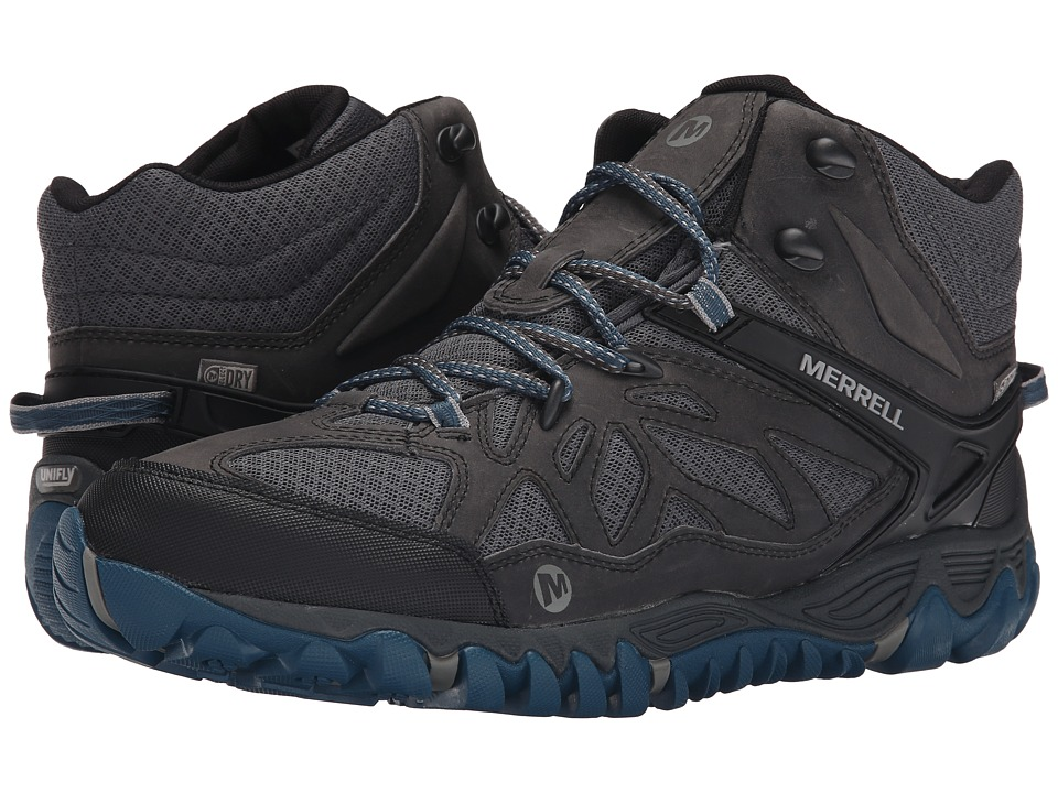 Merrell All Out Blaze Vent Mid Waterproof Grey/Multi Mens Shoes
