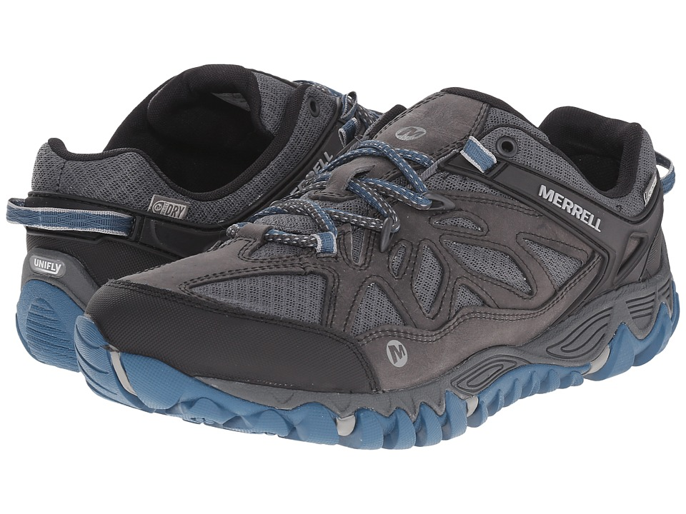 Merrell All Out Blaze Vent Waterproof Grey/Multi Mens Shoes