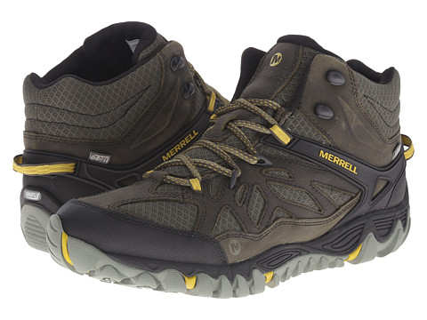 Merrell All Out Blaze Vent Mid Waterproof - Olive