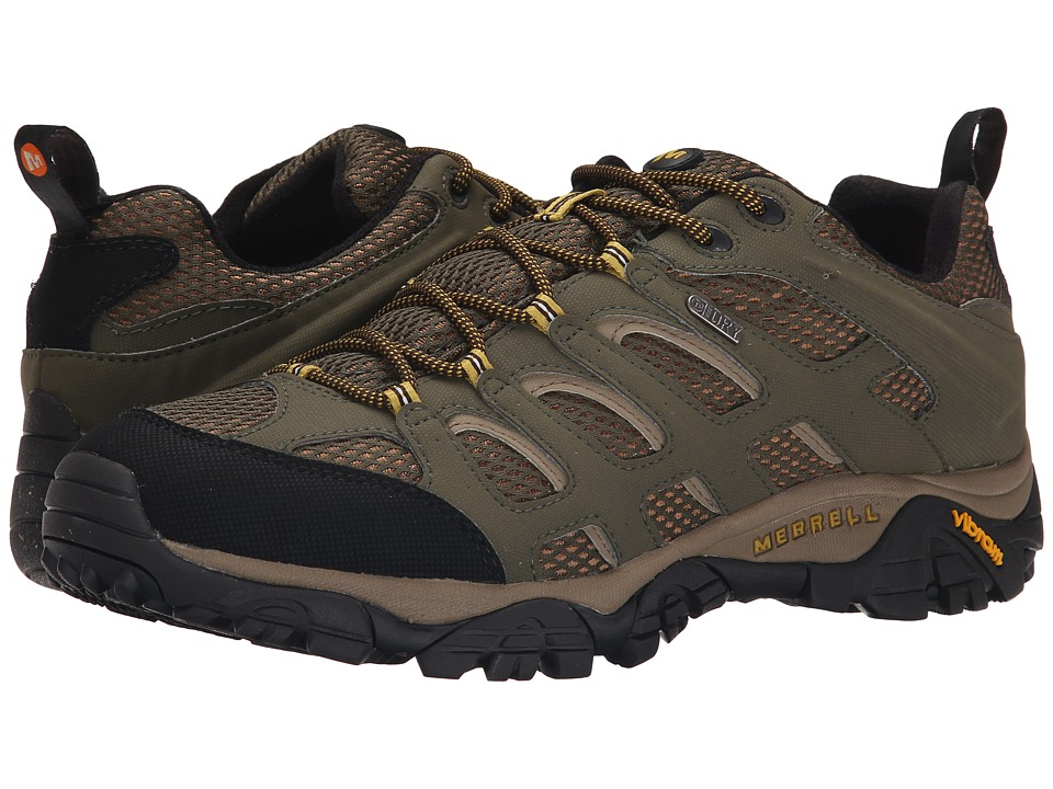 Merrell - Moab Waterproof (Olive) Men