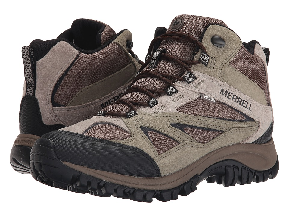 Merrell Phoenix Bluff Mid Waterproof (Putty) Men