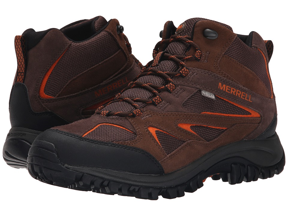 Merrell Phoenix Bluff Mid Waterproof (Dark Brown) Men