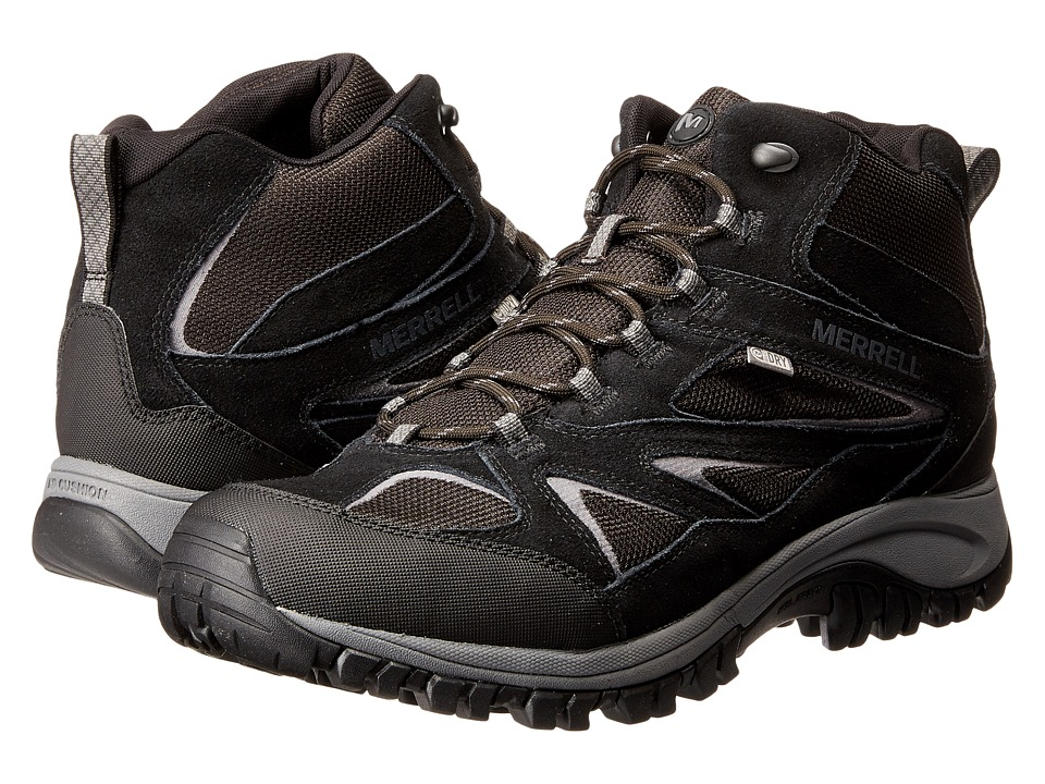 Merrell - Phoenix Bluff Mid Waterproof (Black) Men