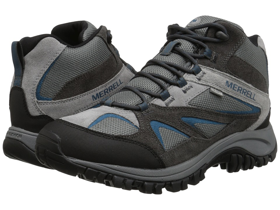 Merrell - Phoenix Bluff Mid Waterproof (Grey) Men