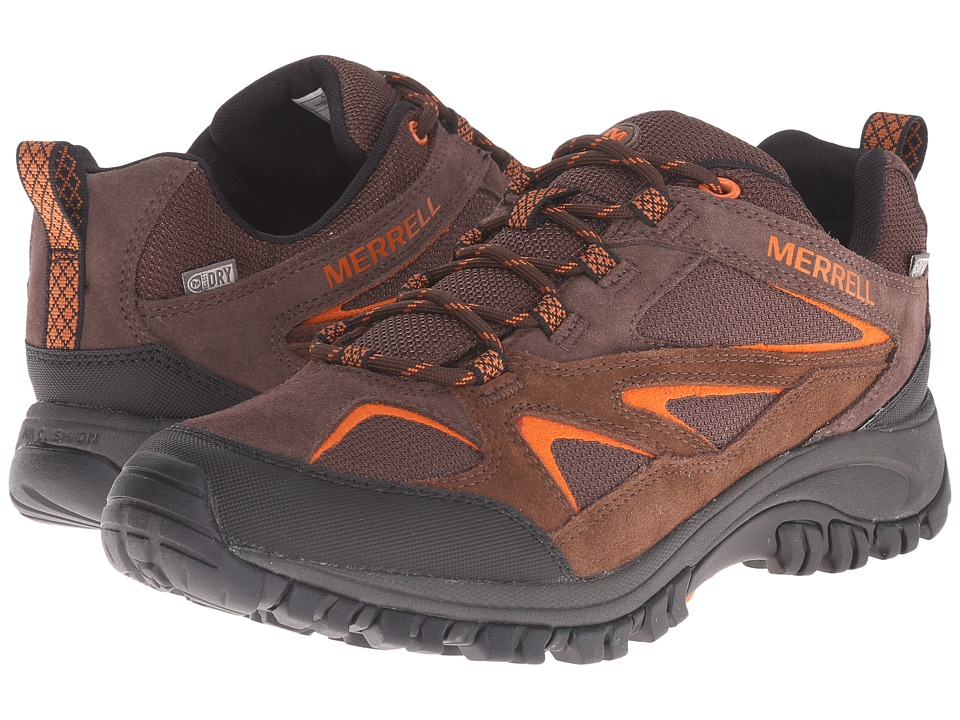 Merrell - Phoenix Bluff Waterproof (Dark Brown) Men