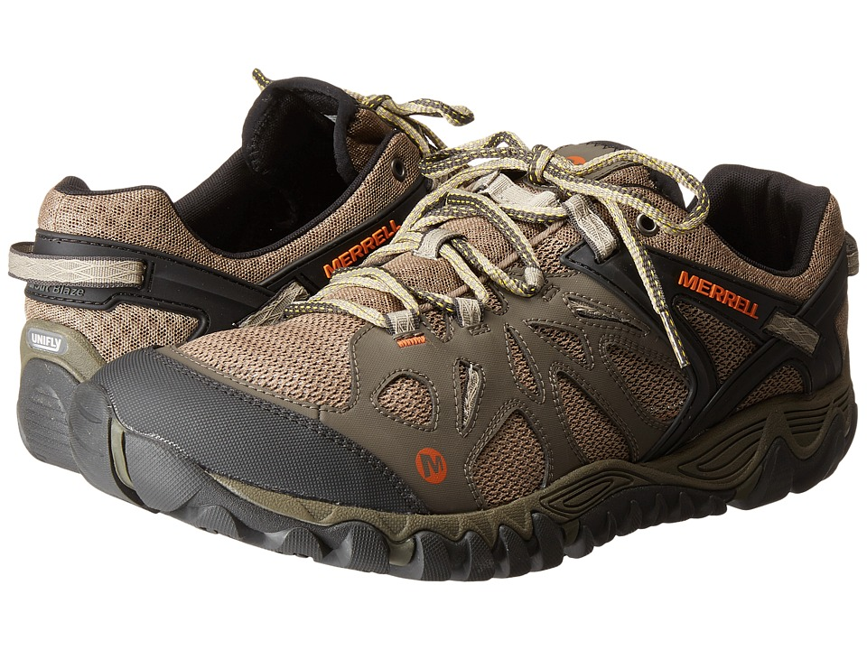 Merrell All Out Blaze Aero Sport (Khaki) Men's Shoes