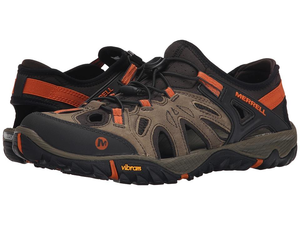 Merrell All Out Blaze Sieve (Light Brown) Men's Shoes