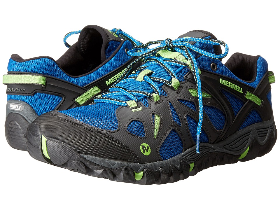 Merrell - All Out Blaze Aero Sport (Bright Blue) Men