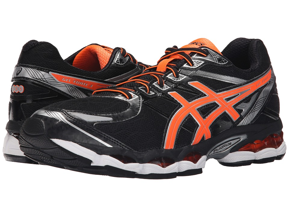 ASICS - Gel-Evate 3 (Black/Hot Orange/Silver) Men