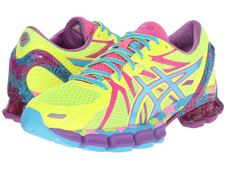 ASICS Gel-Sendai 3 (Flash Yellow/Turquoise/Hot Pink) Women