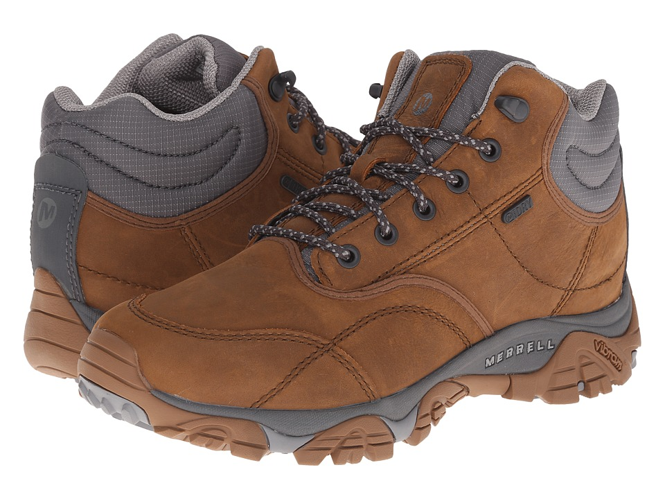 Merrell - Moab Rover Mid Waterproof (Merrell Tan) Men