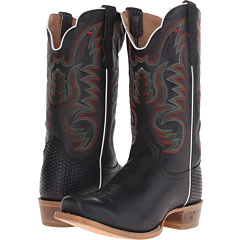 Image of Old West Boots - 60005 (Adrian Black) Cowboy Boots