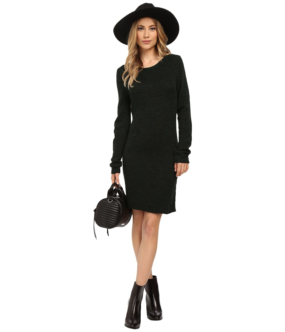 ONLY Hayley Long Sleeve Knit Dress June Bug Womens Dress