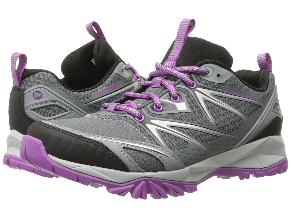 Merrell - Capra Bolt (Grey/Purple) Women