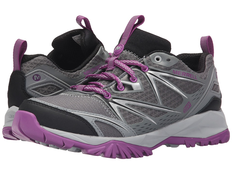Merrell - Capra Bolt Waterproof (Grey/Purple) Women